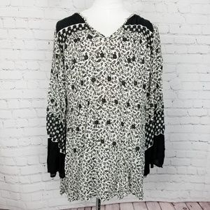Free People|Bell Sleeve Boho Tunic/Dress